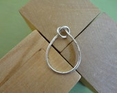 Top Knot Ring in Silver