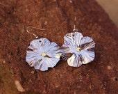 Aluminum Flower Earrings