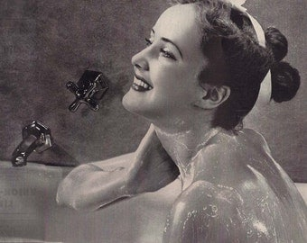 Vintage Housewives Ad- Magazine Originals- 1930- 10 x 13 inch 25 x 33 cm