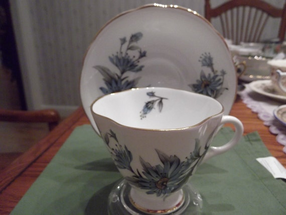 Reserved for Masayoshi- Clarence cup and saucer circa 1950-1960's-  44