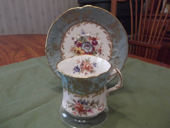 Hammersley cup & saucer circa 1939-1959-  595