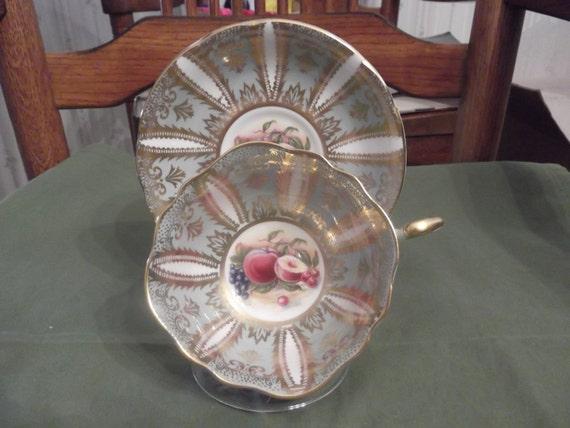 Rare Paragon cup & saucer circa 1957-1960's  -DR