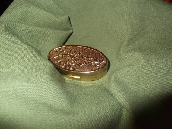 Reserved for Jane-   Lipstick Compact: 1950 Goldplated Max Factor Lipstick Compact- Patten number 2830602-  DR