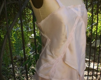 Vintage Inspired Camisole Top Pretty in Pink
