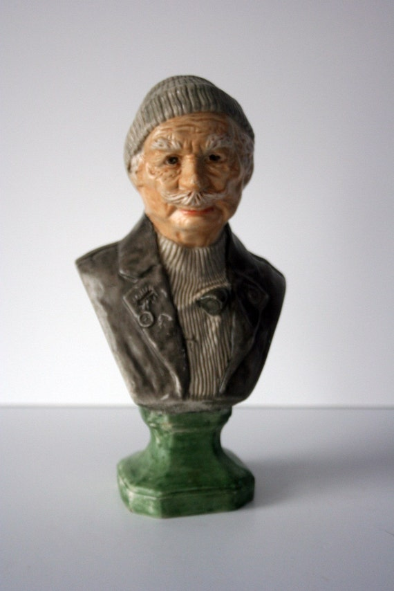 vintage sea captain statue by holland mold: mighty finds