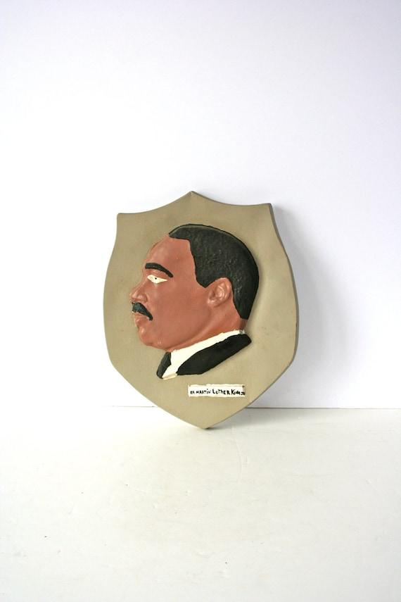 vintage handmade MLK Jr. folk art