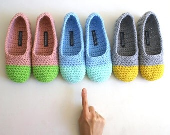 Crochet Slippers for Ladies