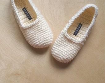 """Shop """"crochet slippers"""" in Women's Shoes"""