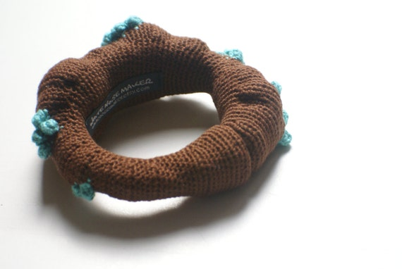 Sprout - Crochet Bangle