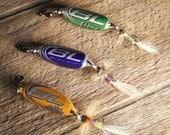 Set of 3 Bud Light Trio Bottle Cap Fishing Lures