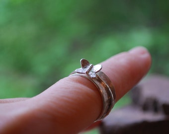 Happiness - Butterfly ring
