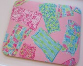 Fabric Mouse Pad Shift Dresses  made with Lilly Pulitzer Fabric