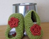 Flower  Booties - FREE SHIPPING