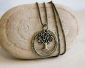 """Vintage Style Pendant Necklace """"Perhaps... Love"""""""