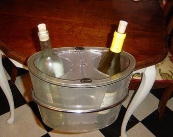 Ice Bucket, Wine, Vintage, Screwpull