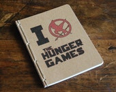 Hunger Games Inspired Journal or Jotter- Blank or Lined Pages