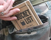 Made To Order Bucket List- Pocket Journal