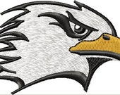 Instant Download Embroidery Design Eagle Head Machine Embroidery Design - Digital Design File