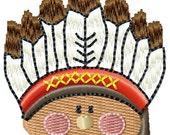 Instant Download Indian Boy embroidery design - Machine Embroidery File - Machine Embroidery Design - Digital Design File