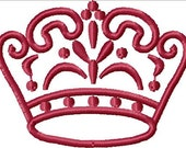 Instant Download Tiara Pageant Fancy Crown embroidery design - Machine Embroidery File - Machine Embroidery Design - Digital Design File