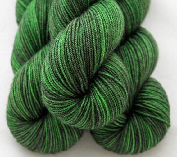 Hand dyed Yarn - 100% BFL - 250 yards - Sport Weight - Elphie