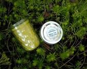mango sage soy and palm wax 8 oz jar candle