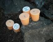Crisp Melon soy and palm wax votives