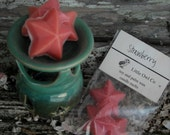 Strawberry soy and palm wax candle melts