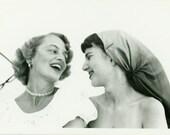 "Vintage Photo ""Best Friends"", Photography, Paper Ephemera, Snapshot, Old Photo, Collectibles - JL009"