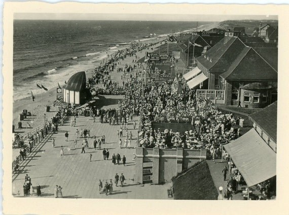 Vintage Photo - Welcome to the Boardwalk