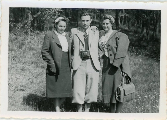 Vintage Photo - Ladies Man - FT003