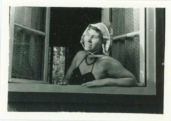 "Vintage Photo ""Summer Dreams"", Photography, Paper Ephemera, Snapshot, Old Photo, Collectibles - 0039"