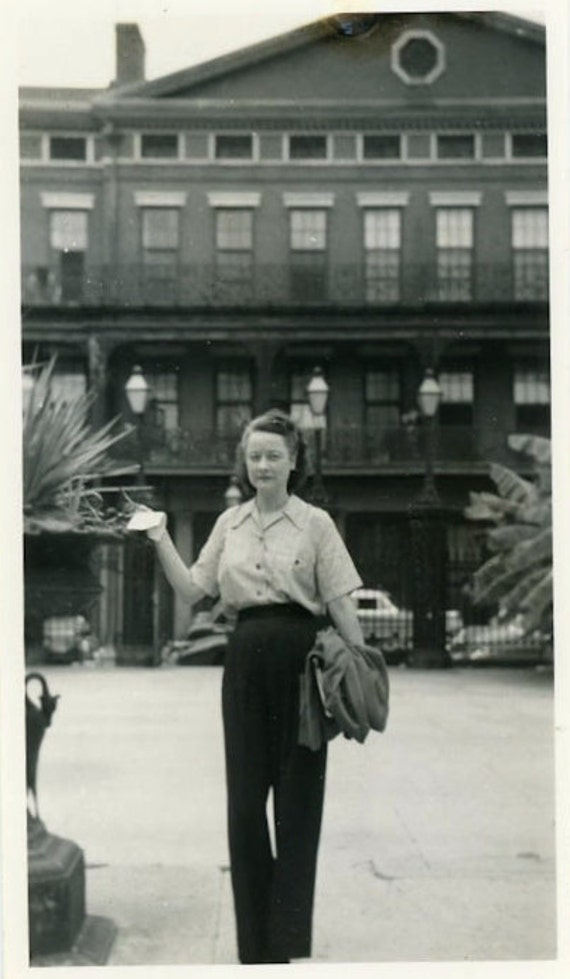 """Vintage Photo """"Trip to New Orleans"""", Photography, Paper Ephemera, Snapshot, Old Photo, Collectibles - JL014"""