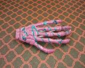 I Want Candy Skeleton Hand Barrette