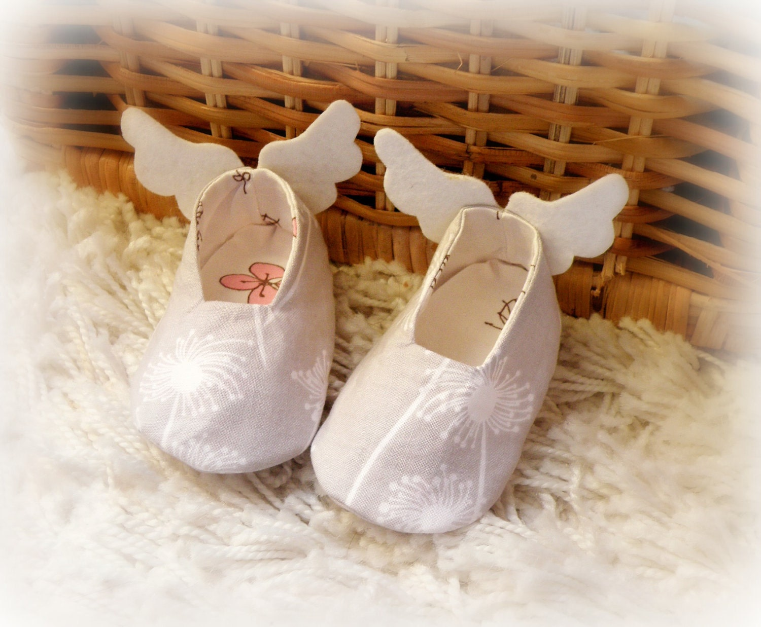Newborn baby shoes Angel s shoes for babies by Melimebaby