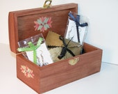 Hand Painted Keepsake Box Gift Set