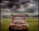 "This Old Ford,  10""x10"" image"