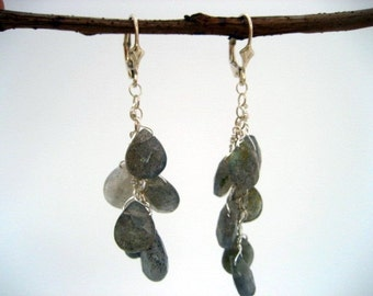 labradorite earrings