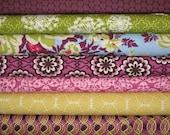SALE SewMod Stacks Half Yard Bundle of  7-Oval Elements, Heirloom, Secret Garden, Pick A Bunch & Bespoken By Art Gallery Fabrics 15% Off
