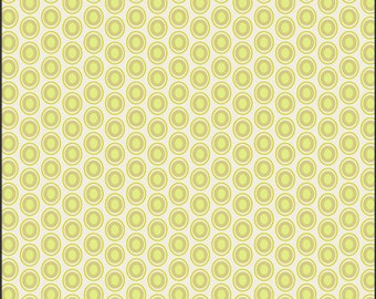 Art Gallery Oval Elements Dots in Key Lime 1 yard