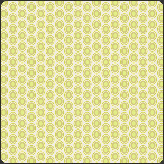 Art Gallery Oval Elements Dots in Key Lime 1 yard by SewModDesigns