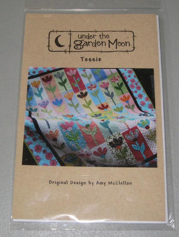 tessie quilt pattern by under the garden moon ForUnder The Garden Moon