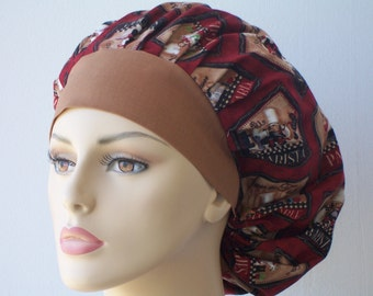 Bouffant Surgical Scrub Hat - Chefs Hat Chefs All Over