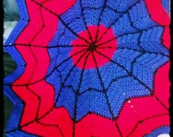 Spiderweb  Blanket - Small/Baby - CUSTOM