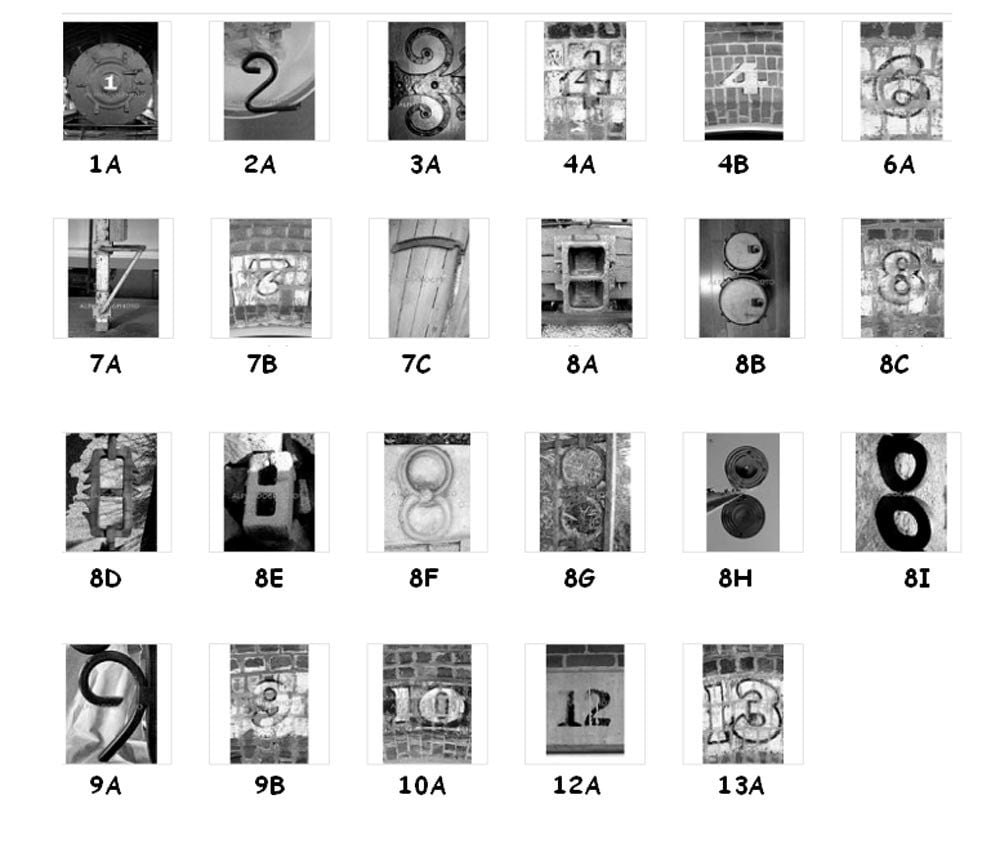 NUMBERS SPACERS And SYMBOLS Alphabet Photography By