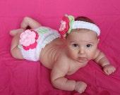 Blossom - Diaper Cover Set - Photo Prop