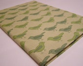 Green Birds - Baby Journal