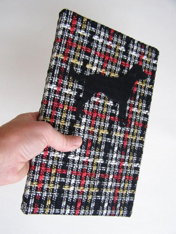Journal - Black Lab on Tweed