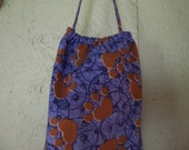 Plastic Grocery Bag holder paw print