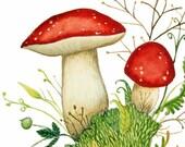 Mushroom Painting No. 1
